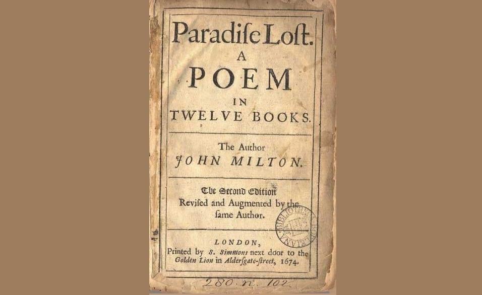 Book By My Bedside: Paradise Lost, Book IX // John Milton