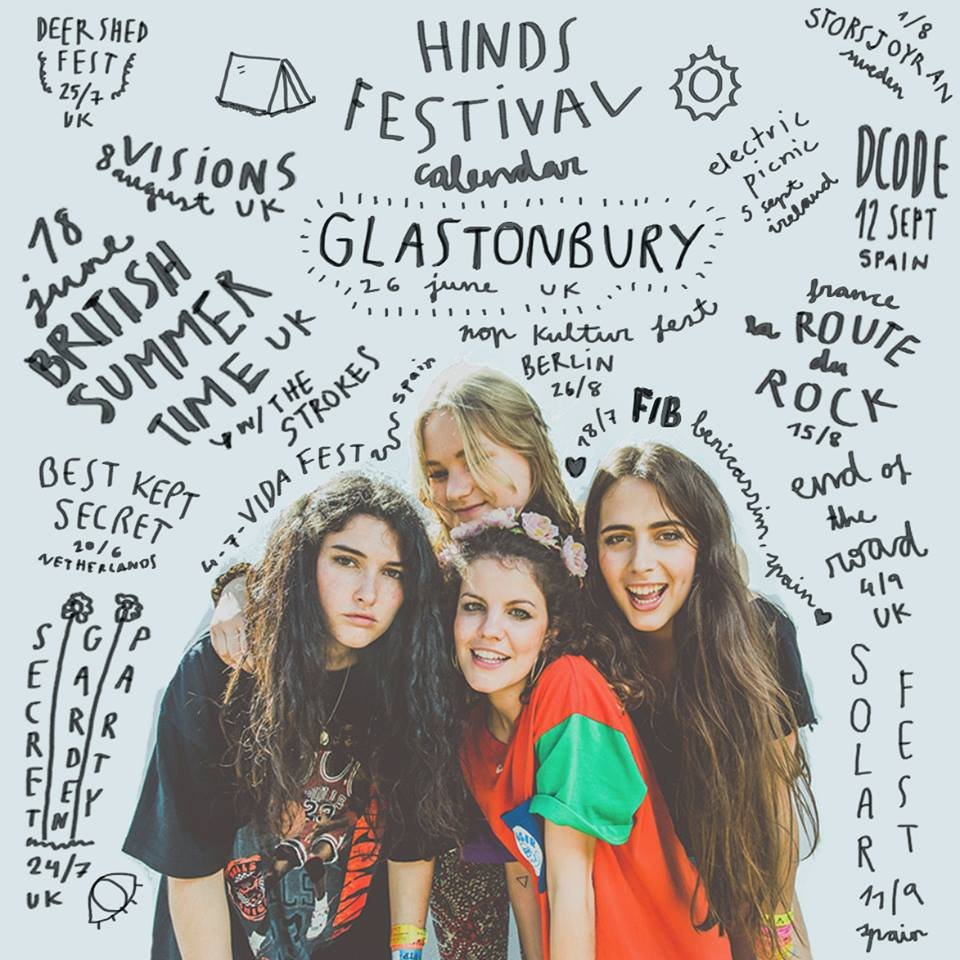 Live Review: Hinds // The Forum, Turnbridge Wells, 21.06.15