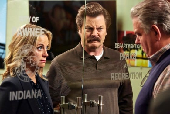 TV Review: Parks and Recreation S07E03 and E04 // William Henry Harrison + Leslie and Ron