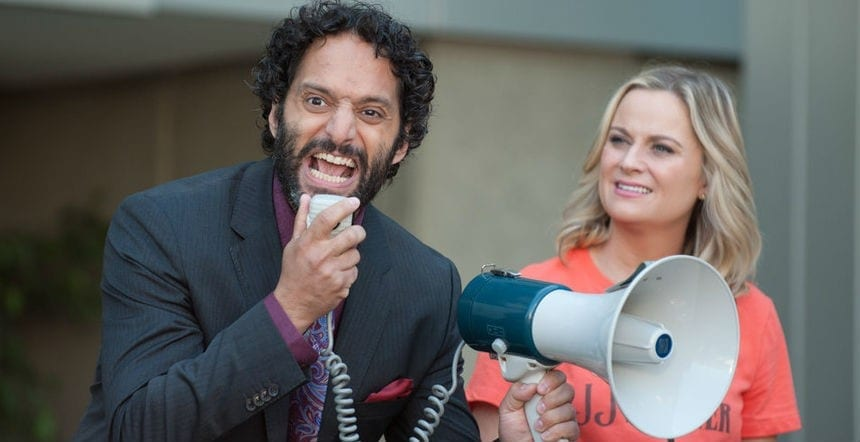 TV Review: Parks and Recreation S7E05 and E06 // Gryzzlbox and Save JJ's