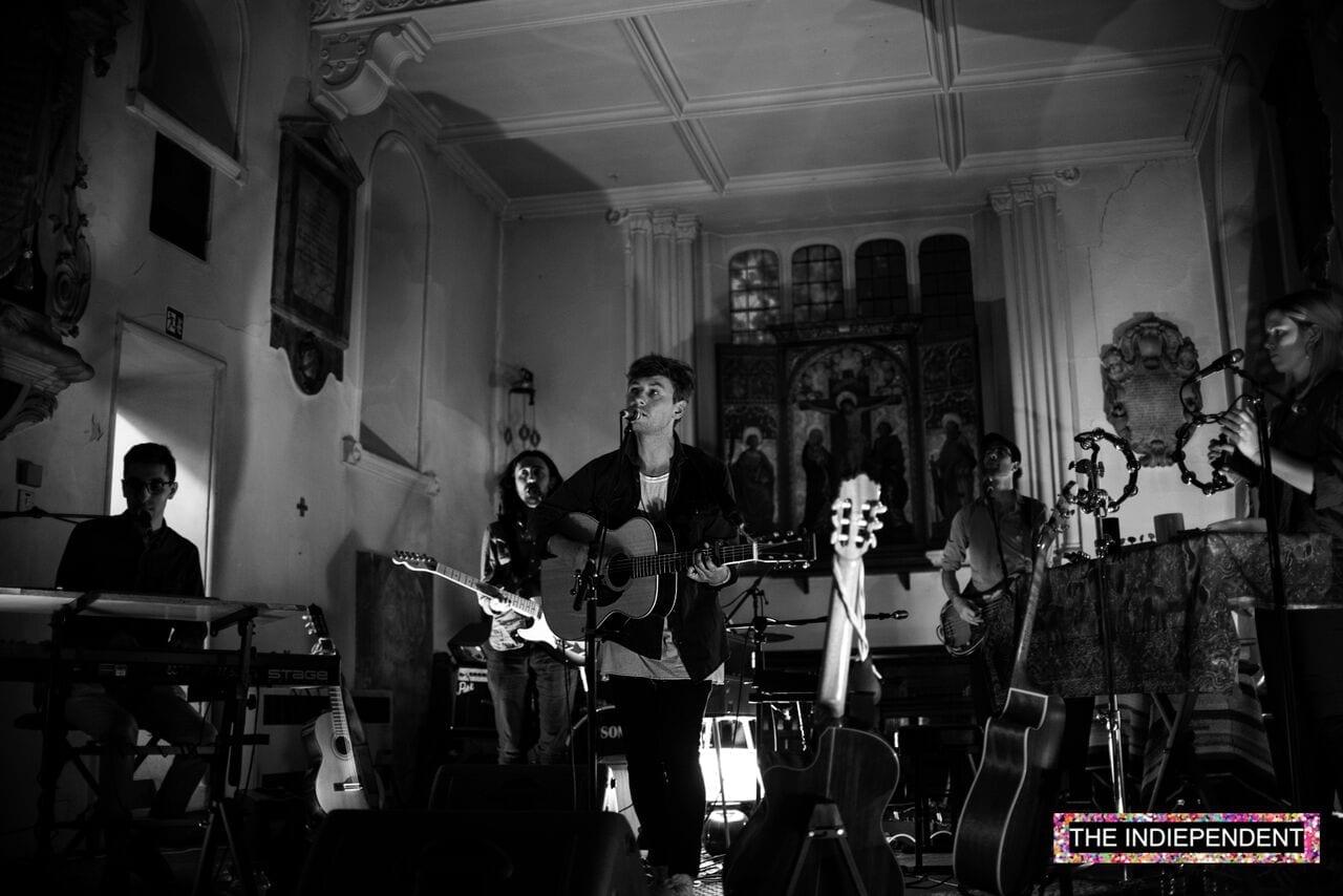 Live Review: Fictonian // St. Pancras Old Church, London, 16.07.15