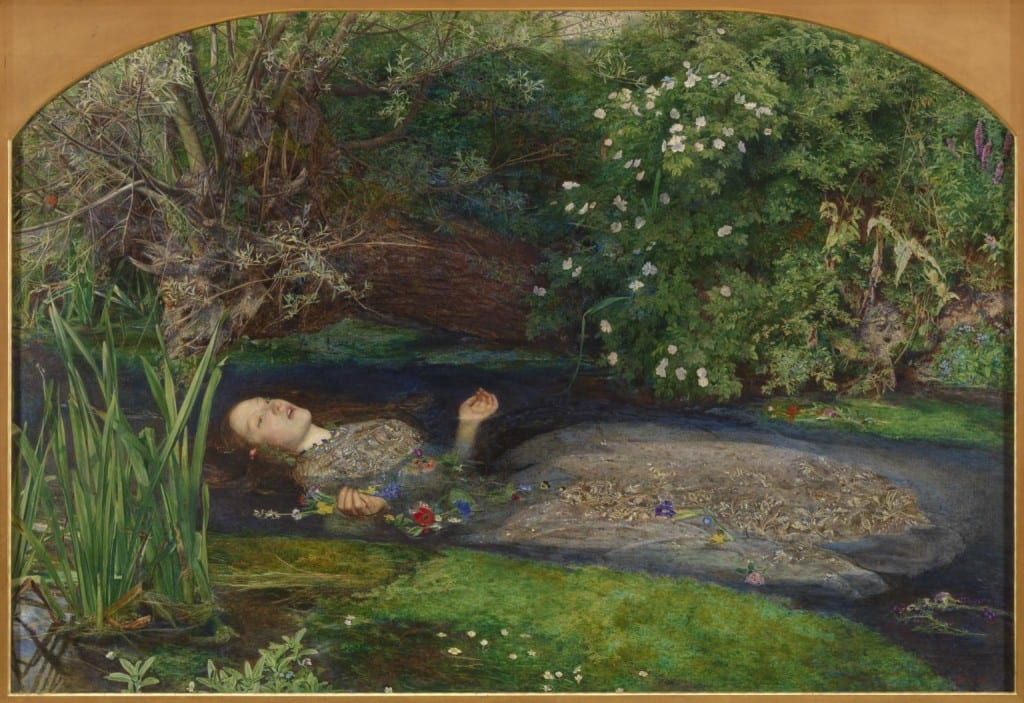 Ophelia 1851-2 Sir John Everett Millais, Bt 1829-1896 Presented by Sir Henry Tate 1894 http://www.tate.org.uk/art/work/N01506