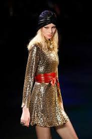 Yves St. Laurent have taken the 70s look and added sparkle