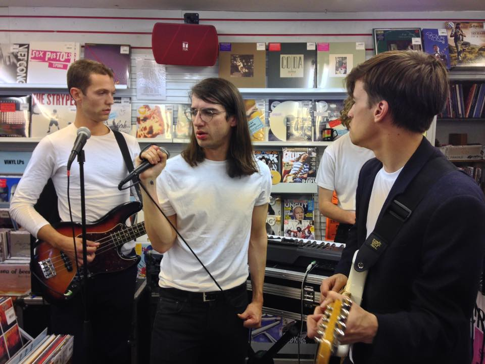 Live Review: Spector // Reflex CD and Vinyl in-store, 25.08.15