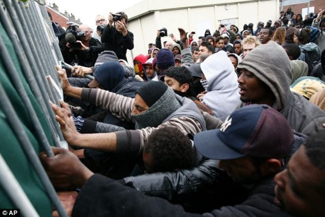 What on Earth is Going On With Calais?