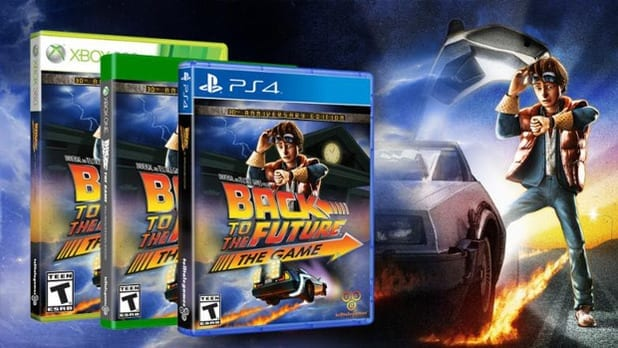 Gaming News: Back to the Future Anniversary Game Announced