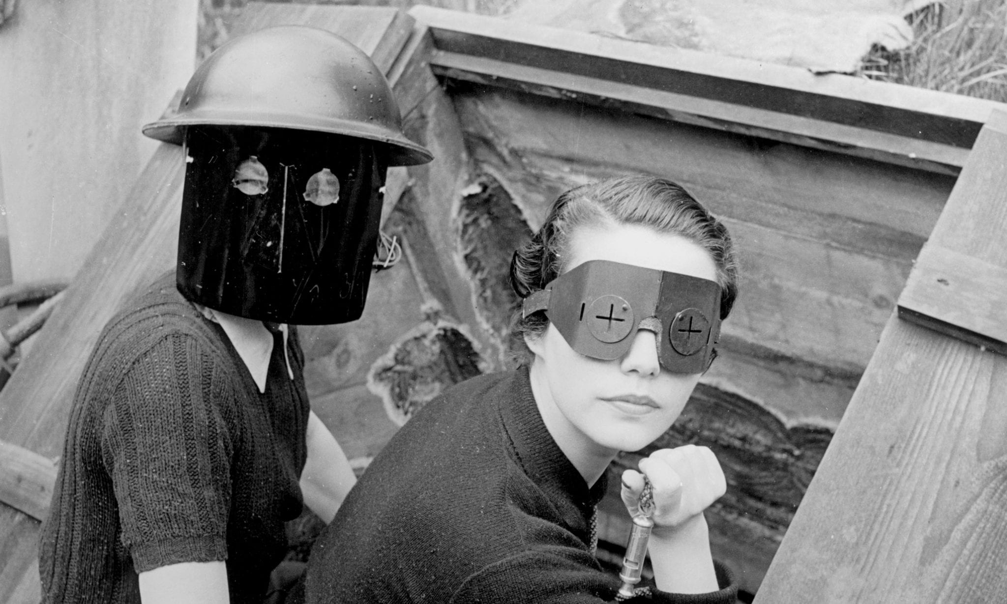Piece Of The Week: Women With Fire Masks // Lee Miller