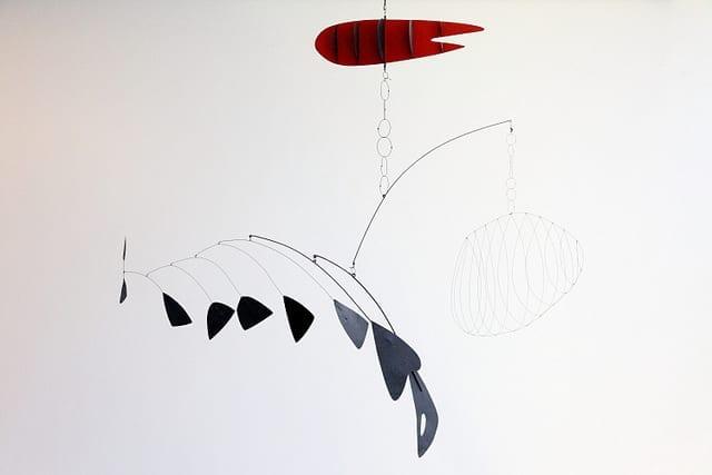 Calder Mobile Fish
