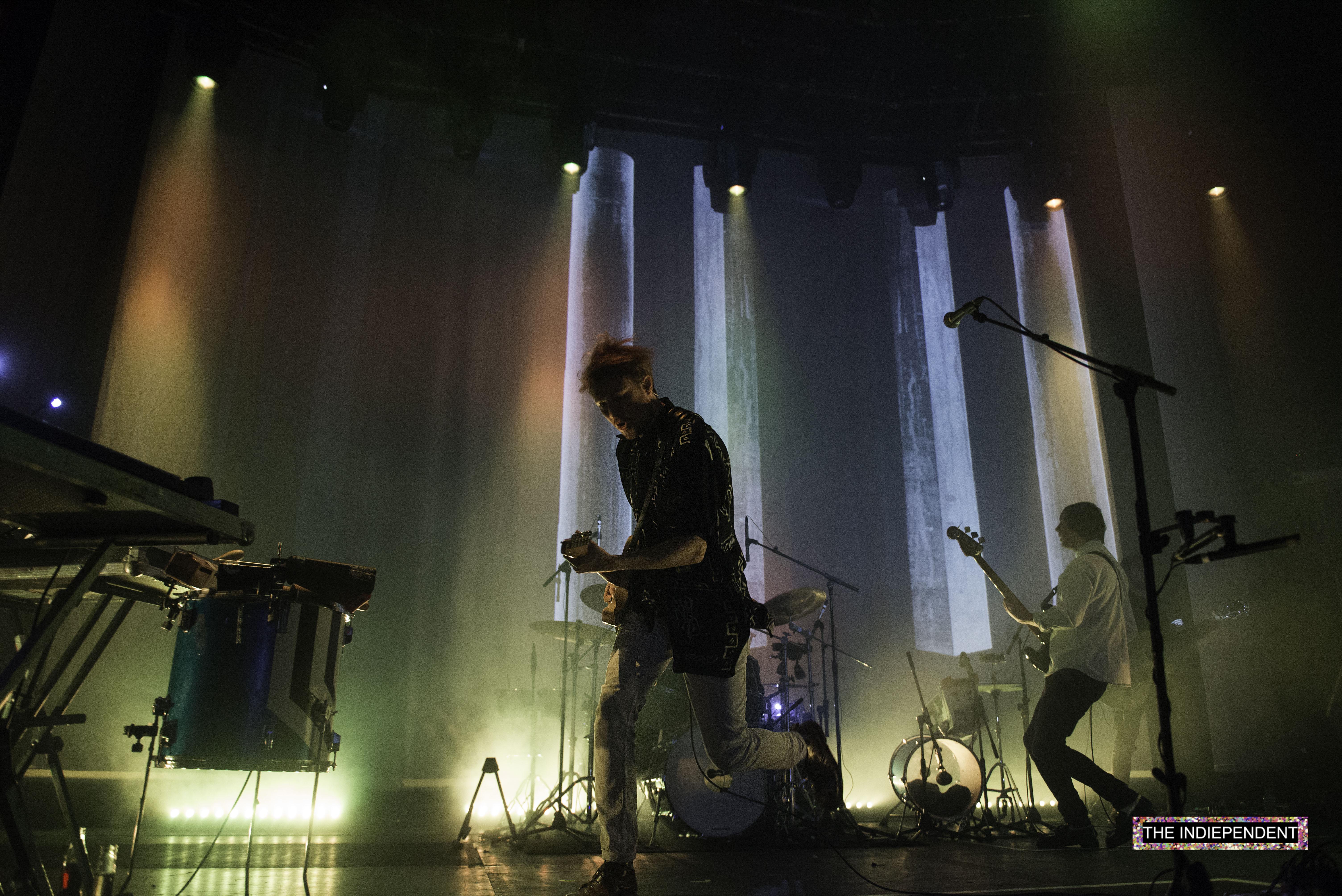 Live Review: Django Django // Roundhouse, London 09.12.15