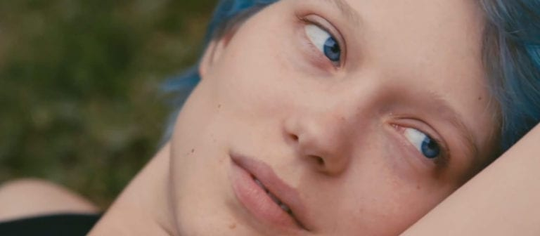 Filling in 'Blue is the Warmest Colour'