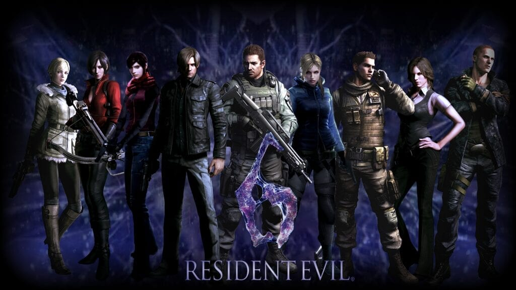 Game Review : Resident Evil 6 HD (PS4)
