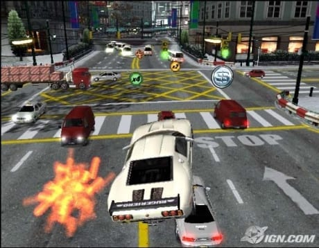 Burnout 3 (crash mode image one)