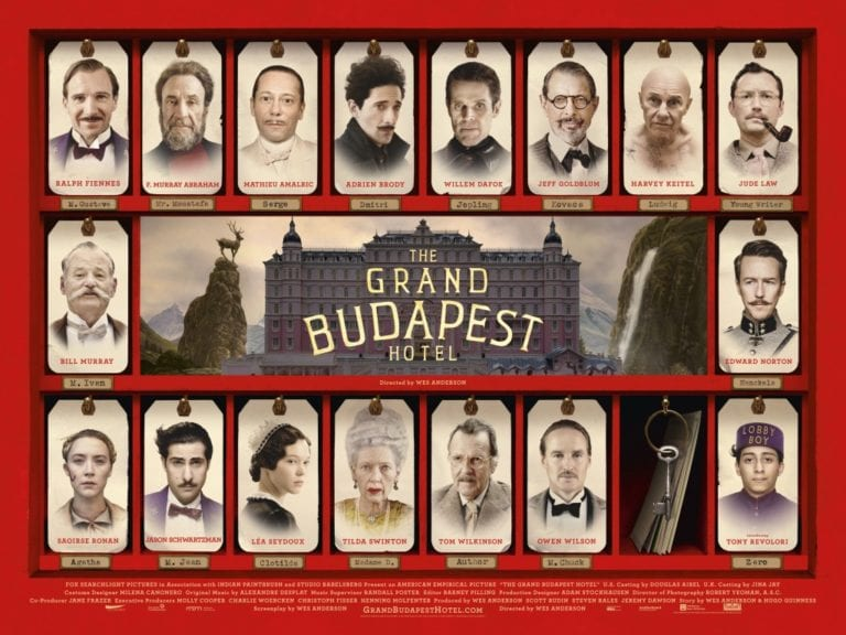 Filling in 'The Grand Budapest Hotel'