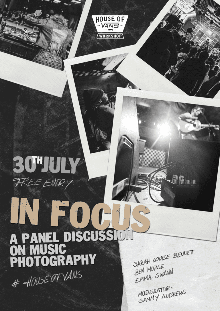 In Focus: A Panel On Music Photography
