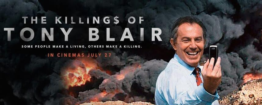 Film News: Trailer released for George Galloway's documentary, 'The Killings of Tony Blair'