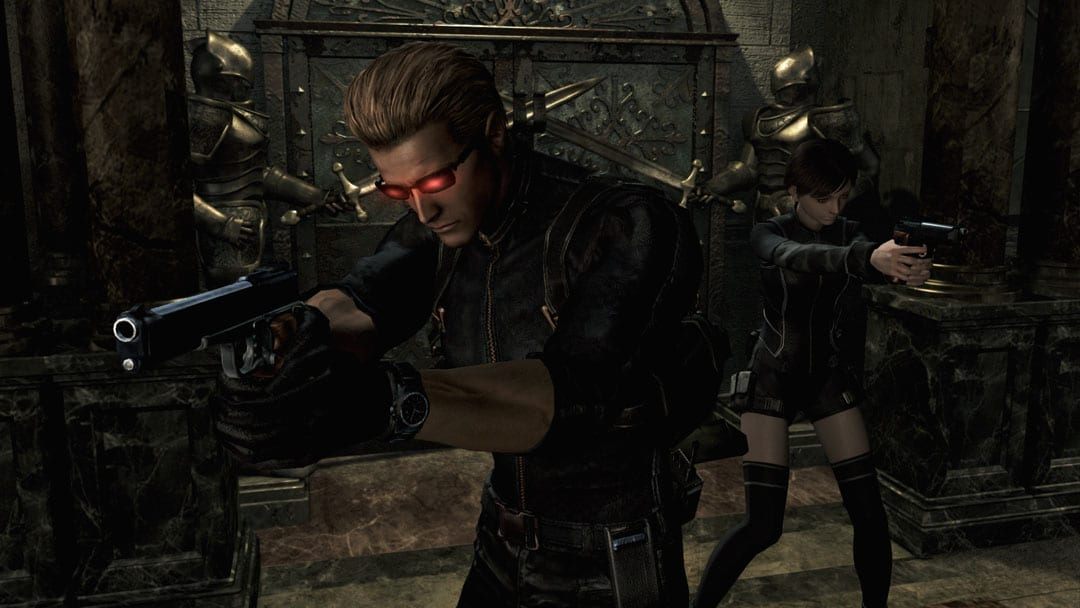 re zero 3 wesker and rebecca wesker mode