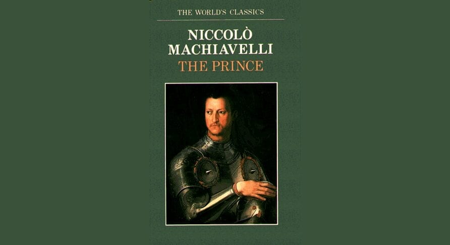 Book By My Bedside: The Prince // Niccolò Machiavelli