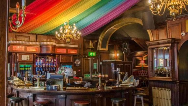 Hey, straight people. Stop going to gay bars.