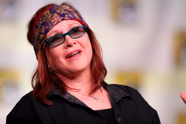 Star Wars icon, writer and mental health campaigner Carrie Fisher dies aged 60