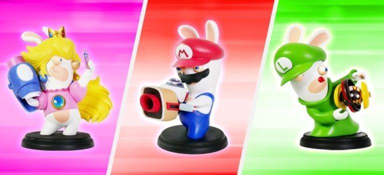 Gaming News: E3 2017 – Mario + Rabbids Figures Unveiled