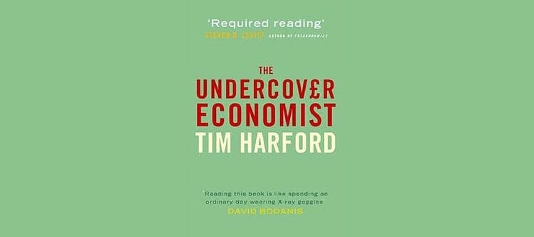 Books By My Bedside: The Undercover Economist // Tim Harford