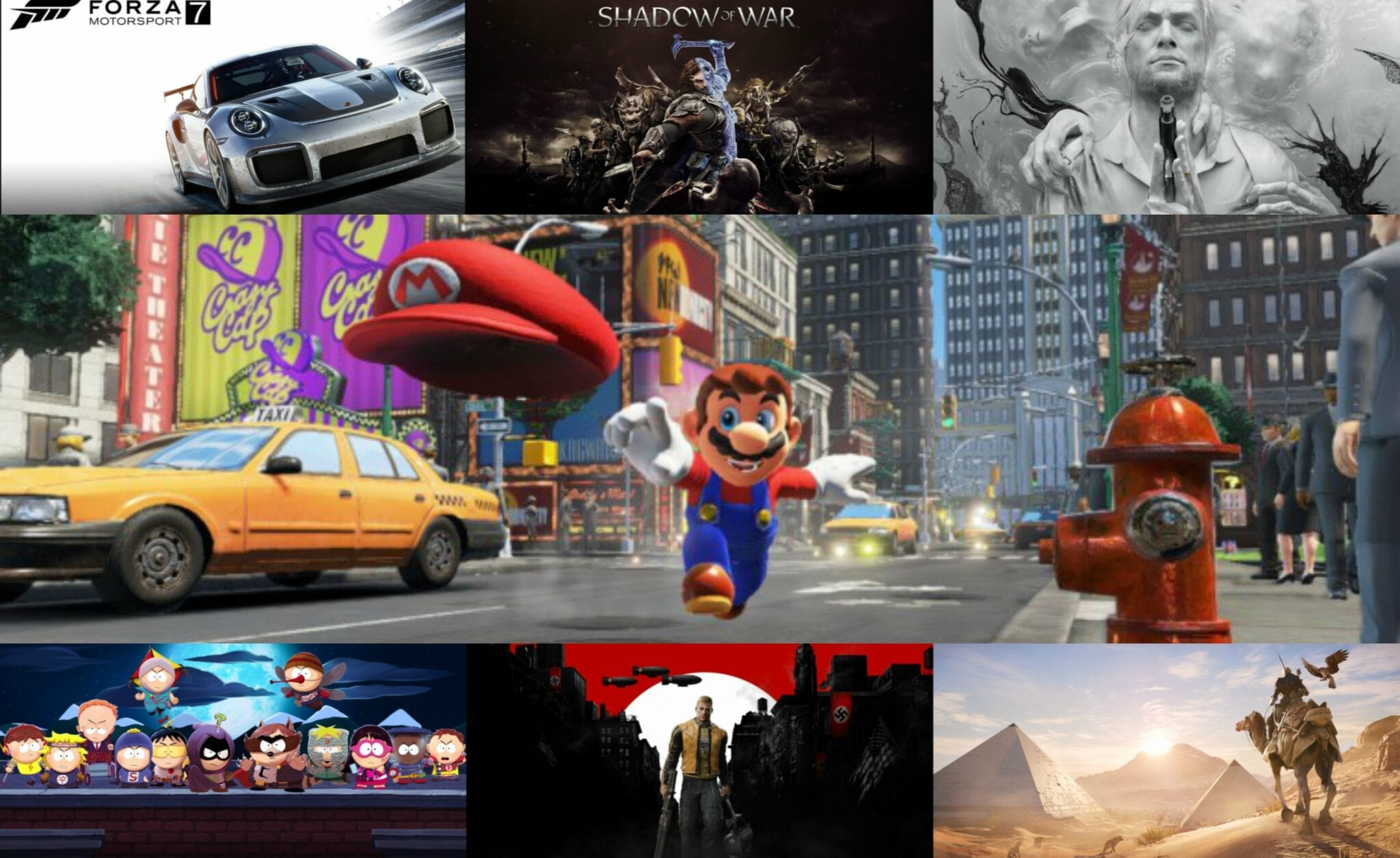 The Month In Games – October 2017