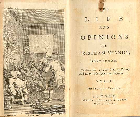 Book By My Bedside: The Life and Opinions of Tristram Shandy, Gentleman // Laurence Sterne