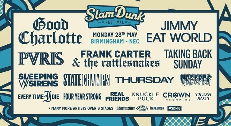 Live Review: Slam Dunk Festival // Leeds