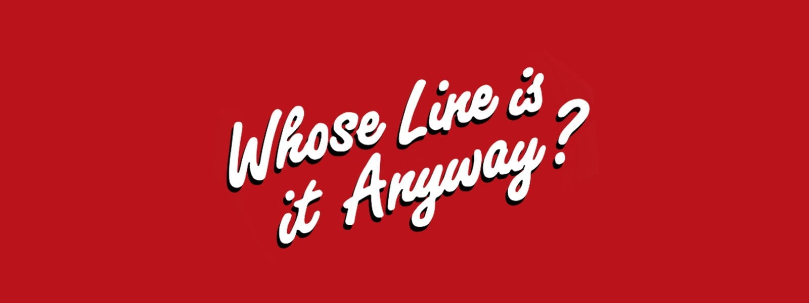 Celebrating Thirty Years of 'Whose Line Is It Anyway?'