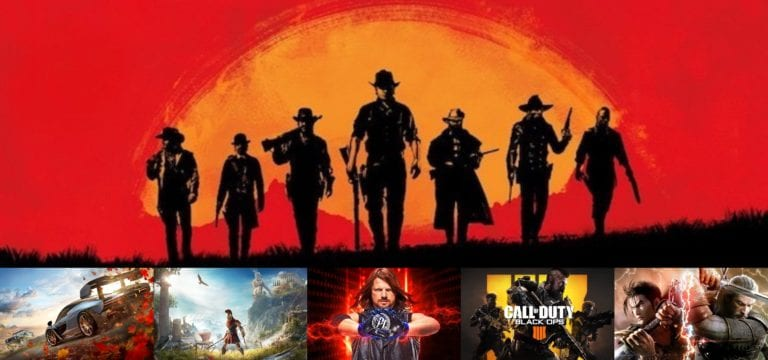 The Month in Games – October 2018