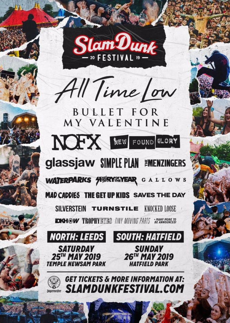 Festival News: Slam Dunk Festival 2019