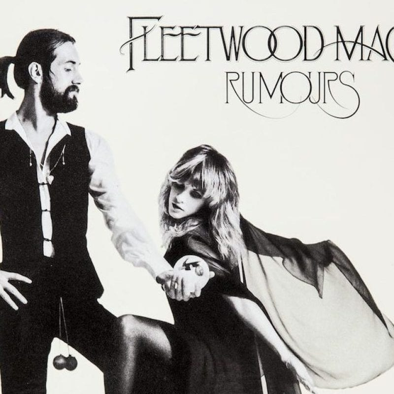 Fleetwood Mac album cover for 'Rumours'