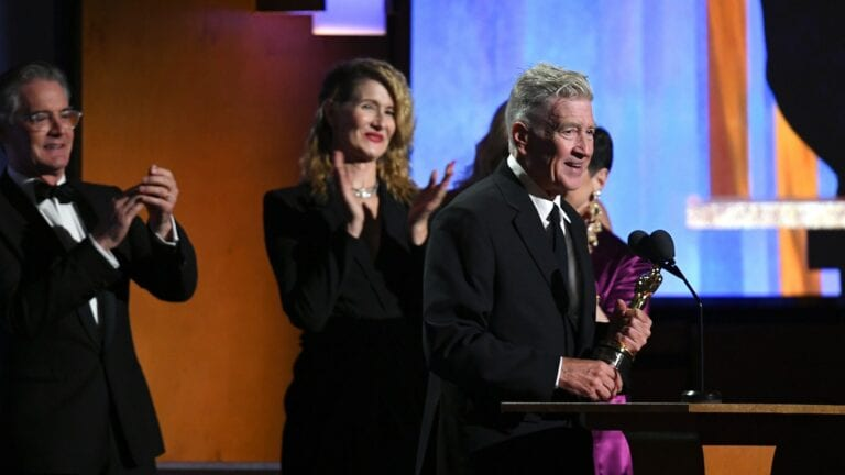 Film News: David Lynch Receives Honorary Oscar