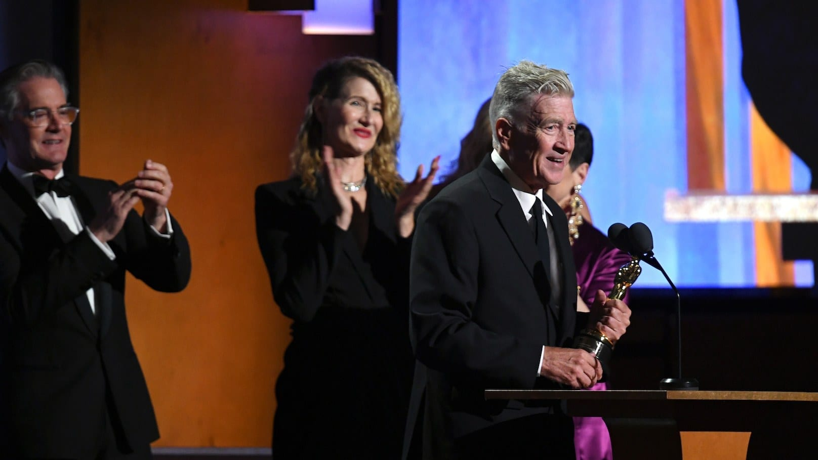 Film News: David Lynch Receives Honorary Oscar