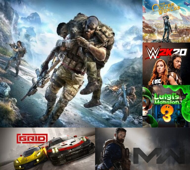 The Month in Games – October 2019