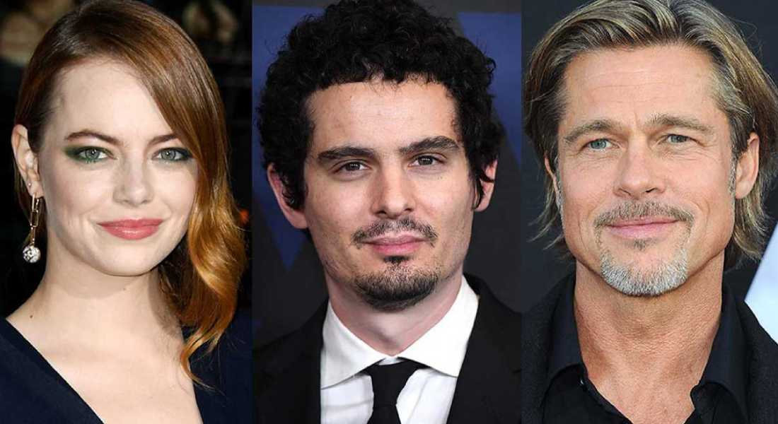 Film News: Damien Chazelle returns with 'Babylon', Brad Pitt and Emma Stone Circling Lead Roles