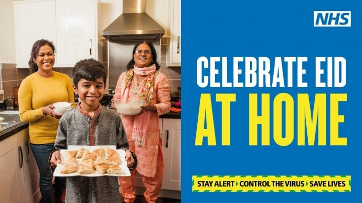 'Celebrate Eid At Home' Messages Lead To Islamophobic Beliefs In Britain