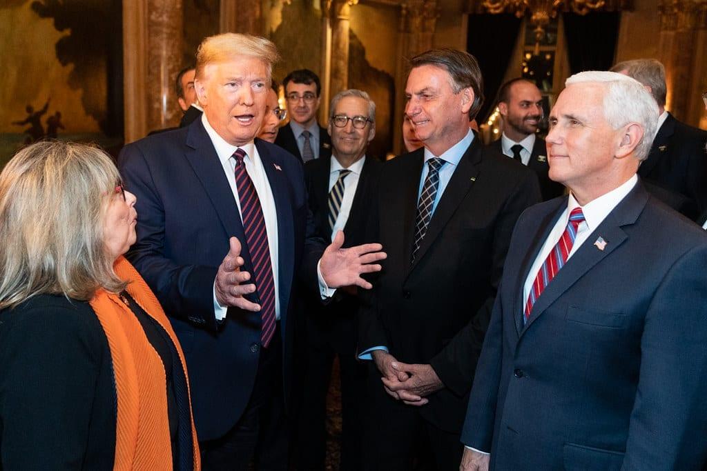 Trump administration meets Bolsonaro