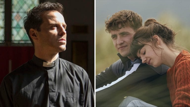 'Fleabag' and 'Normal People' crossover sends Paul Mescal and Daisy Edgar-Jones for confession with 'Hot Priest' Andrew Scott