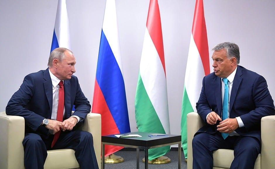 Orban meets Putin