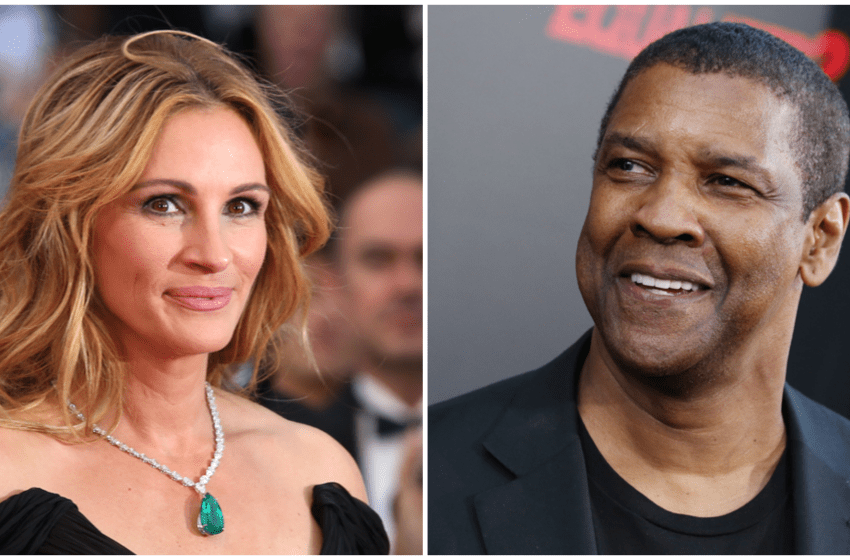 Denzel Washington and Julia Roberts to Star in 'Leave the World Behind' for Netflix