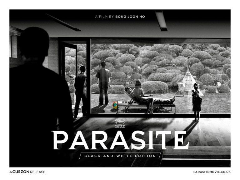 Black and white version of 'Parasite' coming to UK cinemas