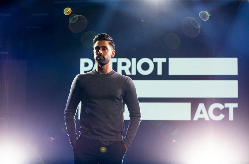 Netflix cancels Hasan Minhaj's 'Patriot Act'