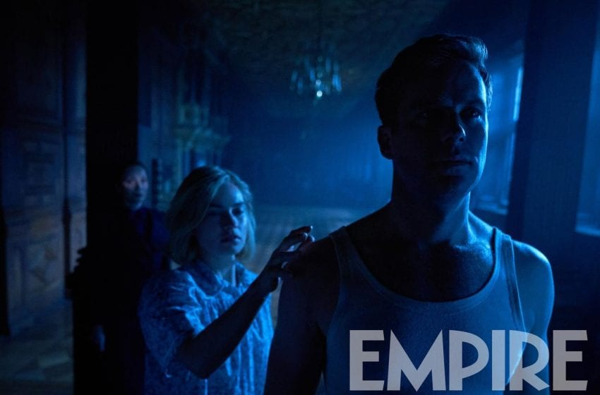'Rebecca' Remake: First Look At Armie Hammer and Lily James