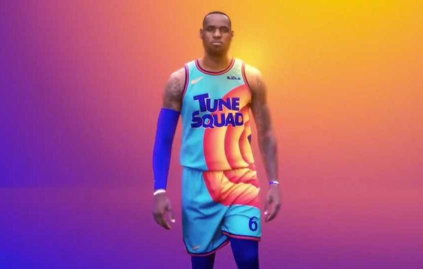 LeBron James Teases Tune Squad Jersey From 'Space Jam: A New Legacy'
