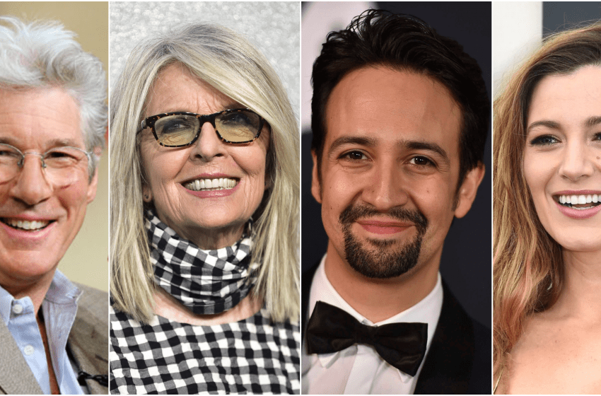 Richard Gere, Lin-Manuel Miranda, Blake Lively and Diane Keaton to star in 'The Making Of'