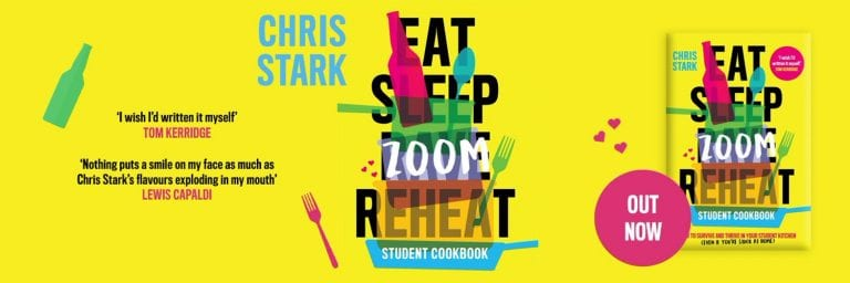 Eat Sleep Zoom Reheat: From The Tap-End To Your Bookshelf with Radio One's Chris Stark