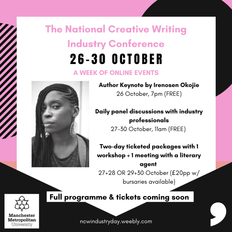 Comma Press Announces National Creative Writing Industry Conference