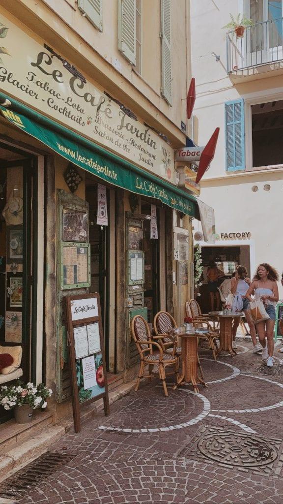Antibes street; Côte d'Azur