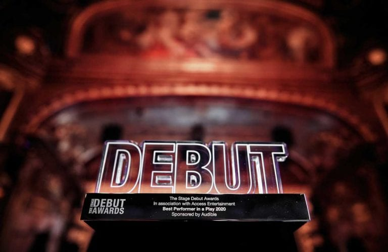 The Stage Debut Theatre Awards 2020